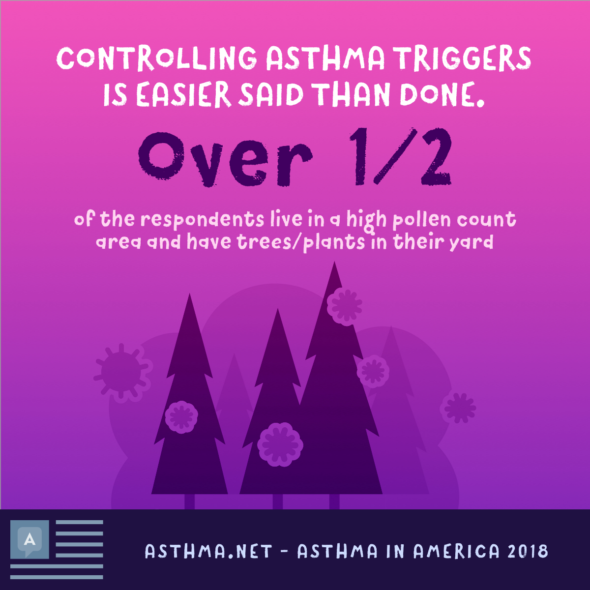 Controlling asthma triggers is easier said than done