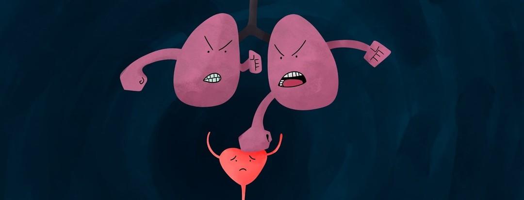 lungs punching bladder