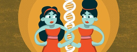 Asthma, Allergies, Twins: Exploring the Genetics image