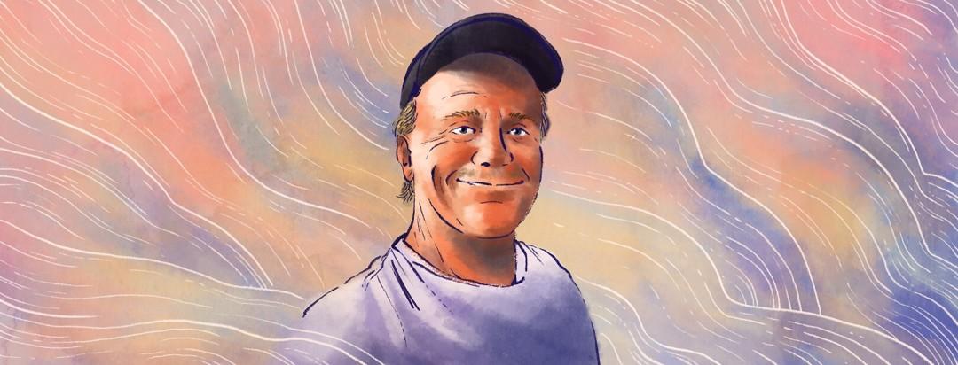 A portrait of Breathin Stephen.